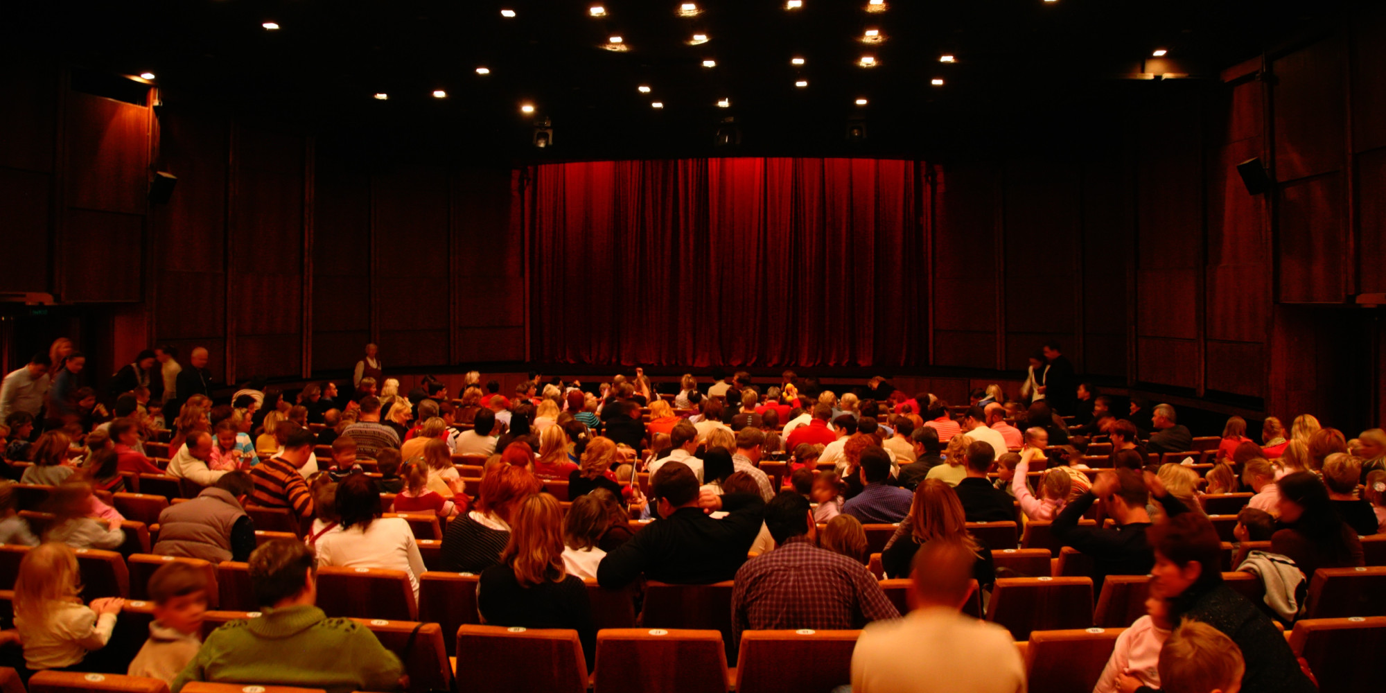 theaters turn lights up volume down at special screenings
