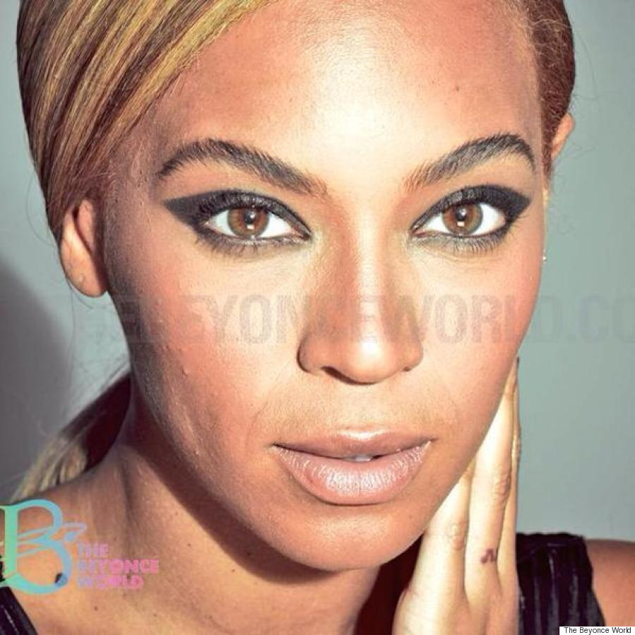 Unretouched Beyonce Photos Prove That She39;s Just As Beautiful Without