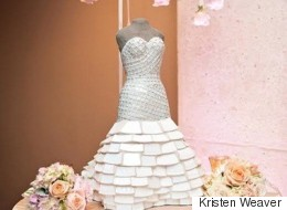Parents of the Bride Commissioning These One-of-a-Kind Wedding Dress Sculptures