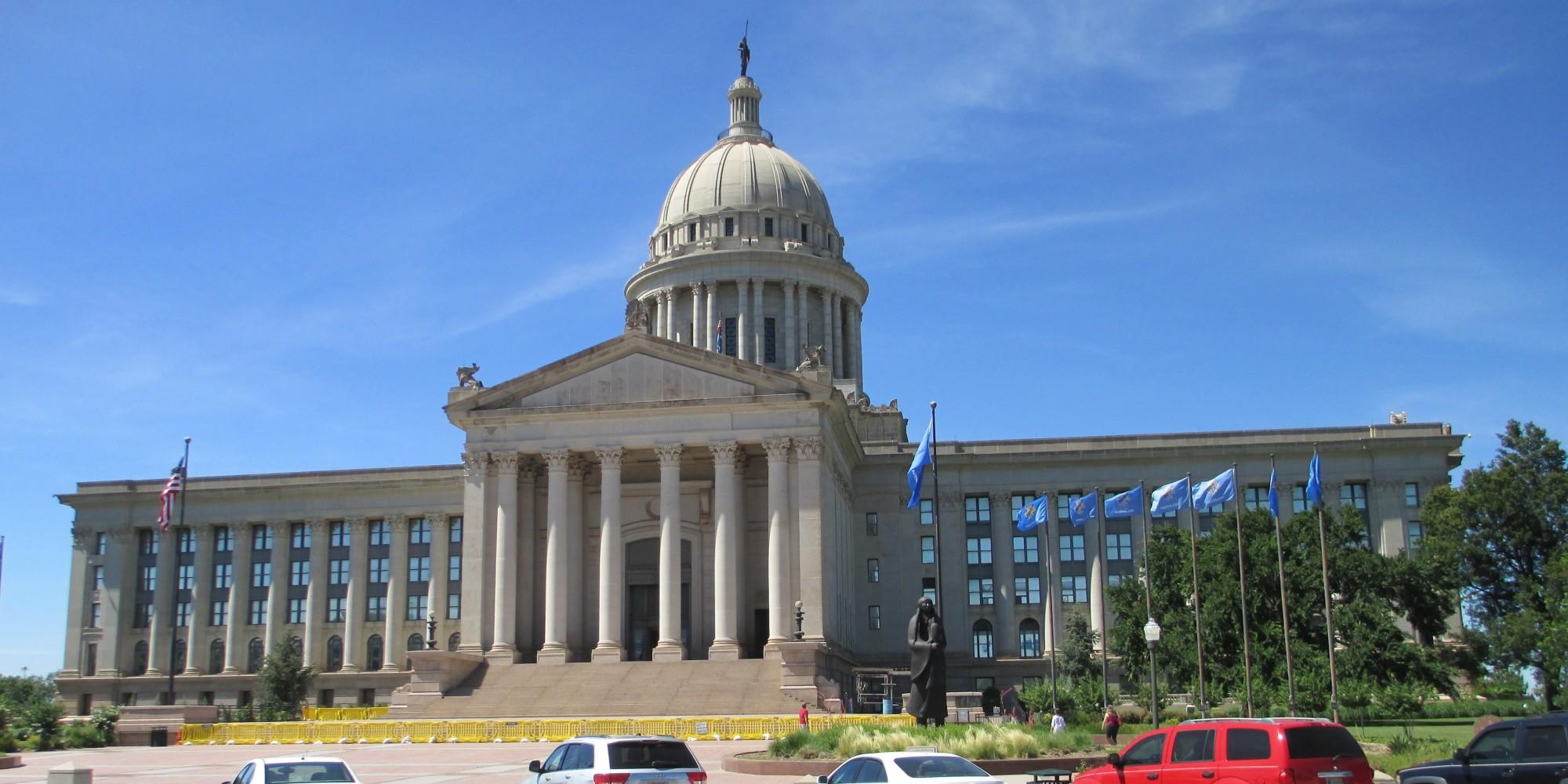 Oklahoma courthouse wedding