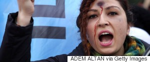 TURKEY PROTESTS WOMAN KILLED