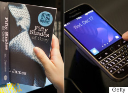 'Fifty Shades' Was Conceived On A Very Canadian Device