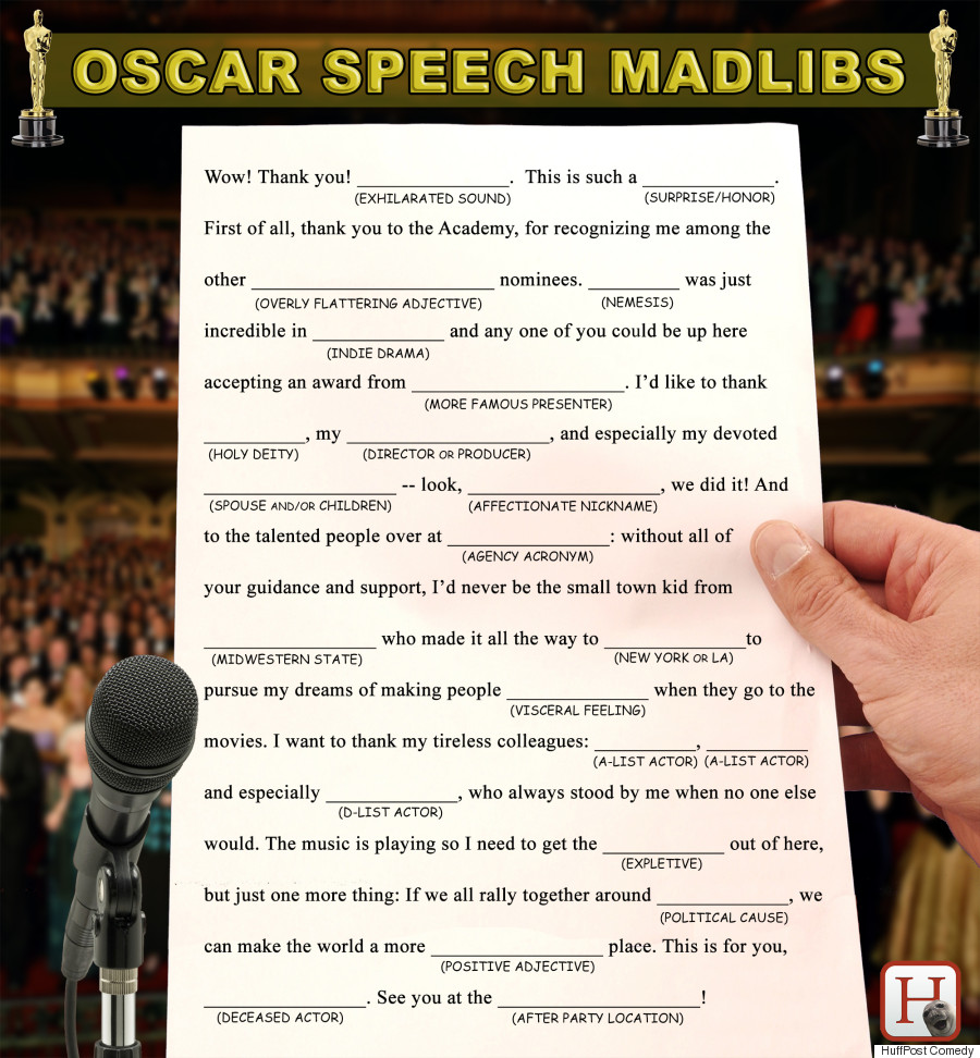 Matthew McConaughey's Oscars speech and the rule of three