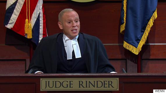 Judge Rinder Wedding