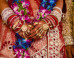 S indian bride garland mini