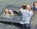 New Zealand Police Officers Save Woman From Drowning In Sinking Car