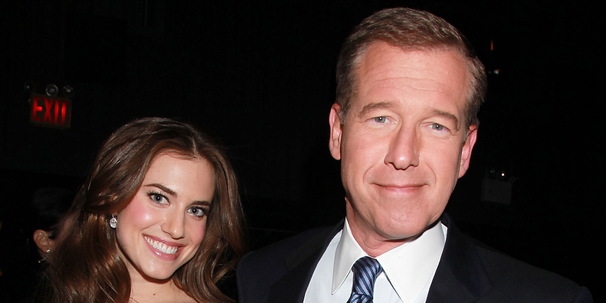 Allison Williams Defends Her Father Brian Williams | HuffPost