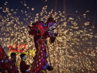 Fireworks, Prayers Usher In Chinese New Year