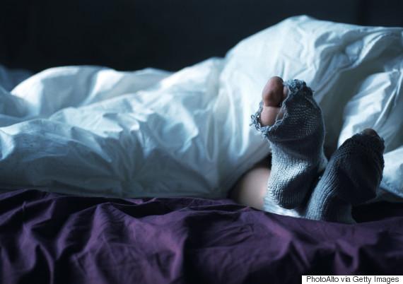 sleeping socks