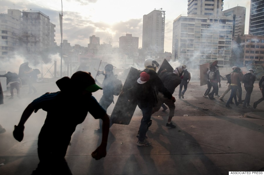 take cover caracas 2014