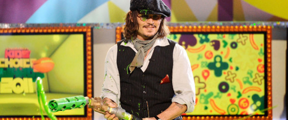 johnny depp kids choice 2011. Kids Choice Awards 2011