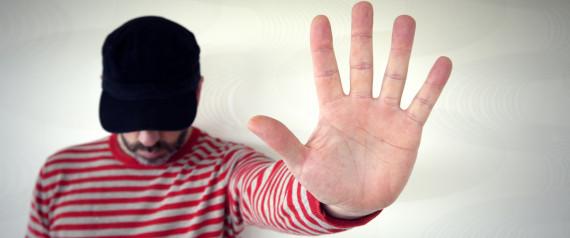 MAN PALM HAND