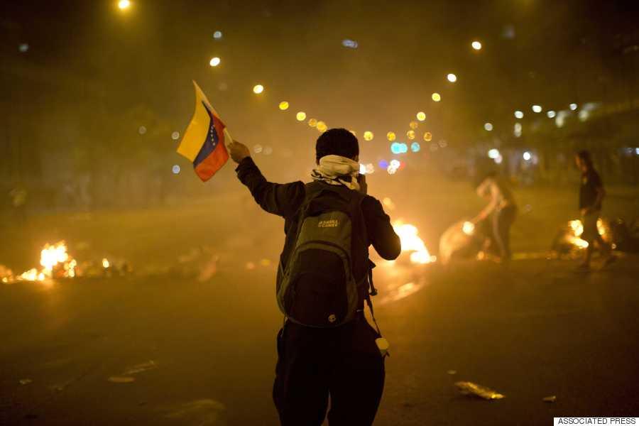 venezuela barricade