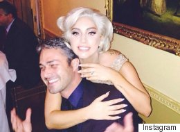 Lady Gaga's Engagement Ring Has A Special Surprise On The Band