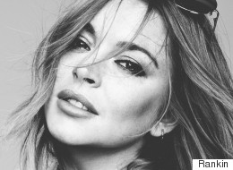 Lindsay Lohan Poses Topless For Hunger Magazine