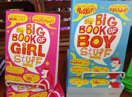 Side-By-Side Photo Proves Gender Stereotypes Are Alive And Well In <br>Kids' Books