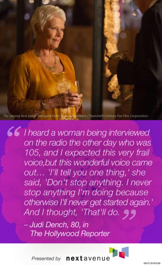 Best Exotic Marigold Hotel Stars Quotes On Aging | HuffPost