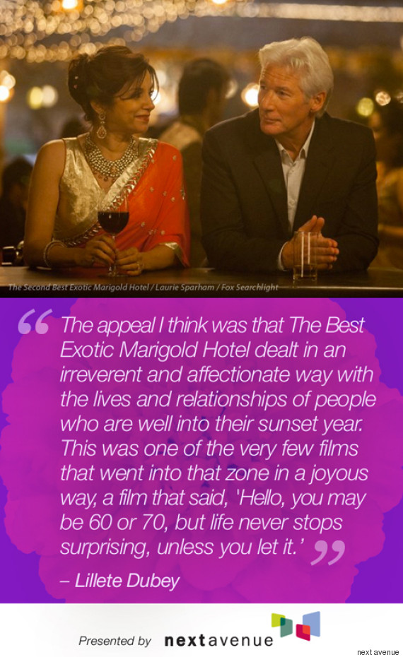 Best Exotic Marigold Hotel Stars Quotes On Aging | Pinoria