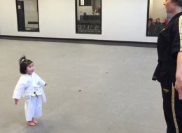 3-Year-Old Taekwondo Devotee Slays Us With Cuteness