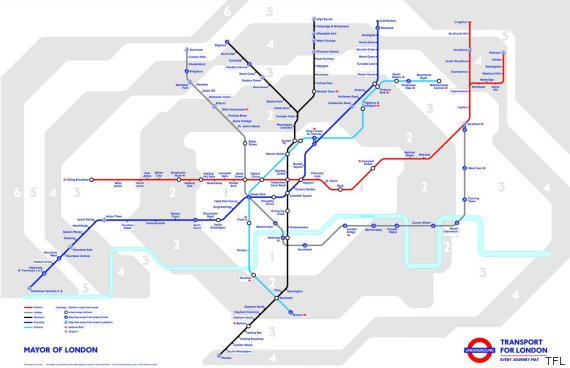 Night Tube Map To Grow Even Further With More Lines Added To ...