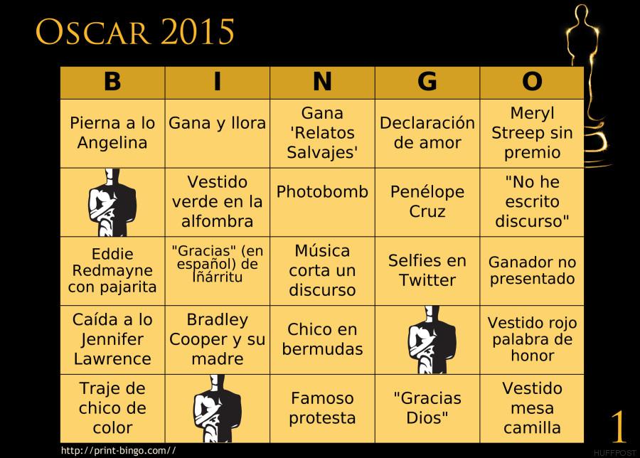 bingo oscar 1