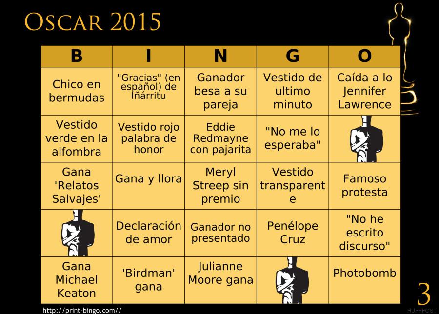 bingo oscar 3
