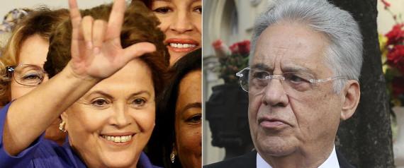 DILMA E FERNANDO HENRIQUE CARDOSO