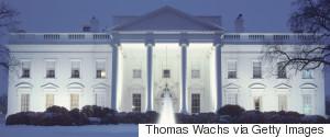 WHITEHOUSE WINTER WASHINGTON DC