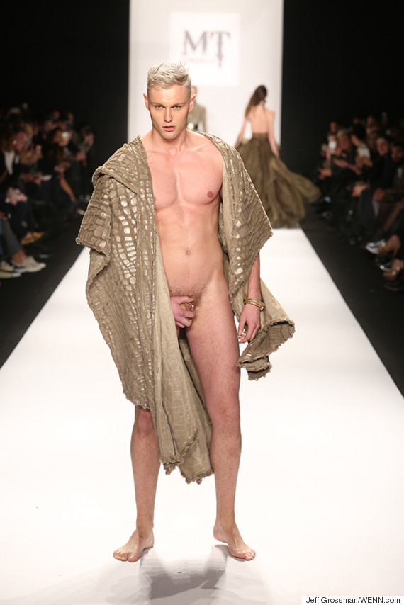 Fashion Show Nudity