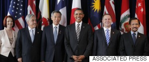 OBAMA TRANS PACIFIC PARTNERSHIP