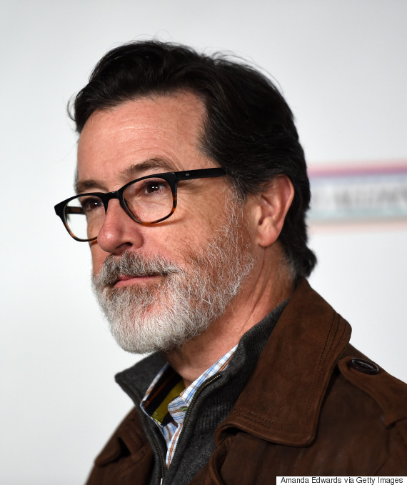 Stephen Colbert S Silver Beard Just Made Our Week Huffpost