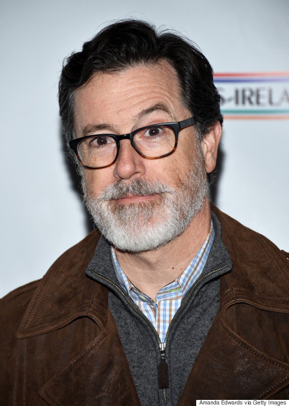 Stephen Colbert's Silver Beard Just Made Our Week | HuffPost Stephen Colbert