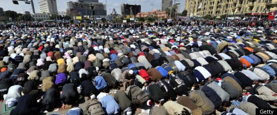 EGYPT MUSLIMS