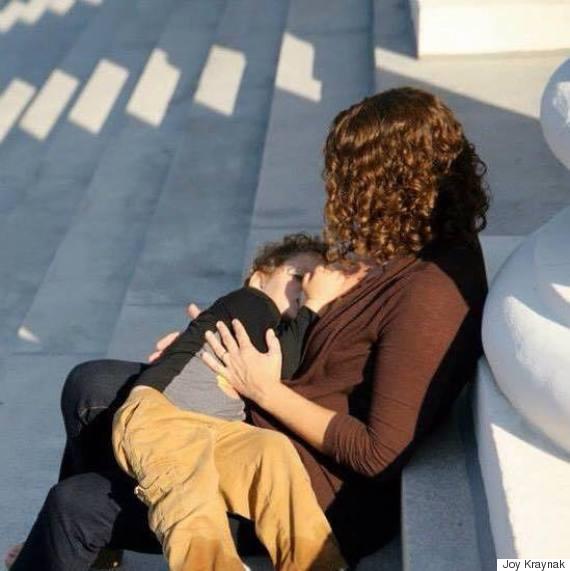normalize breastfeeding