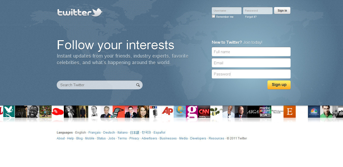 Twitter Users Report Twitter.com Has A New Homepage (SCREENSHOTS