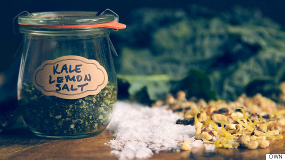 Kale Lemon Salt: An Unfussy Way To Add A Savory Punch Of Flavor To ...