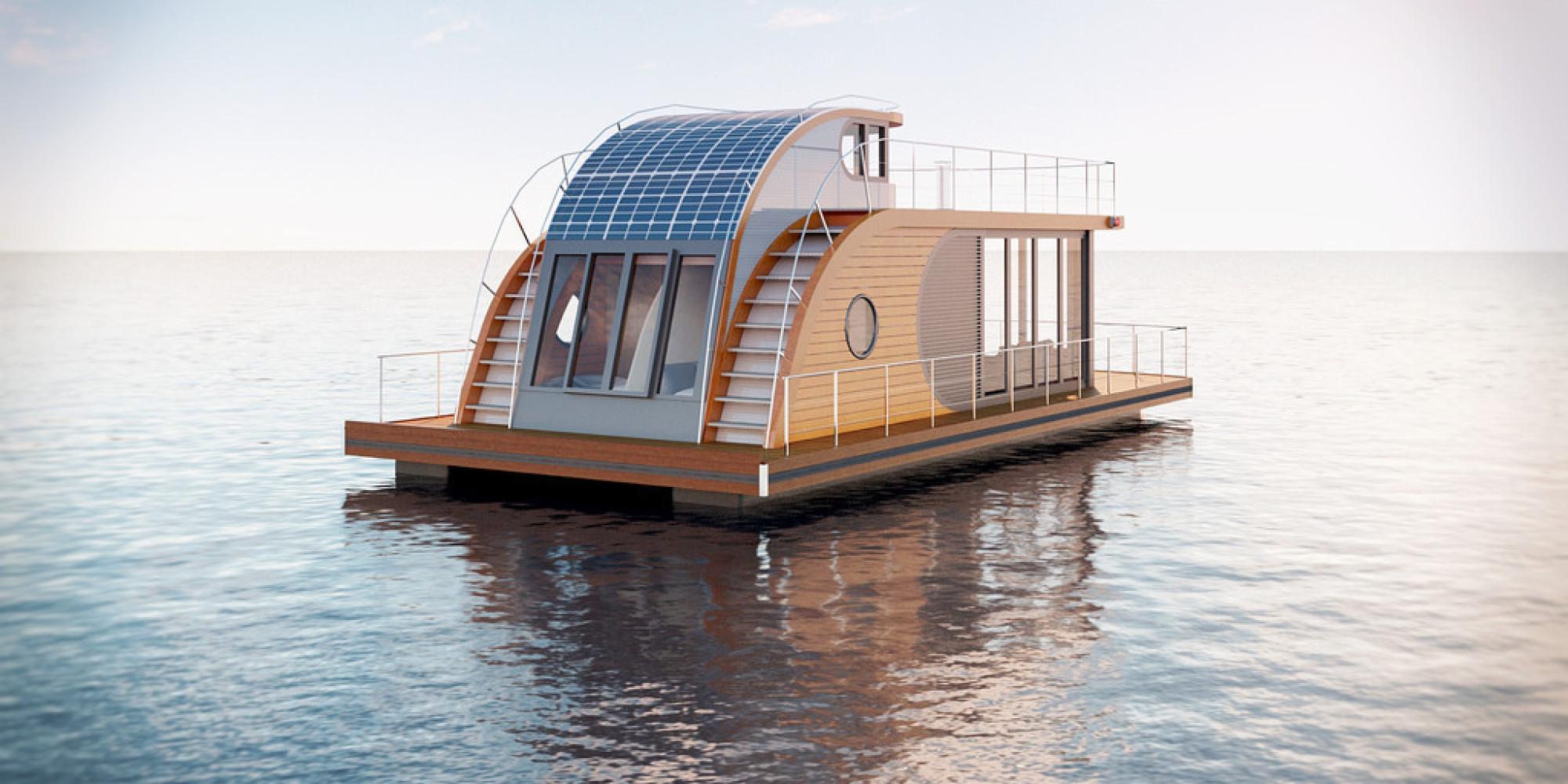 schwimmendes wohnmobil urlaub auf einem hausboot. Black Bedroom Furniture Sets. Home Design Ideas