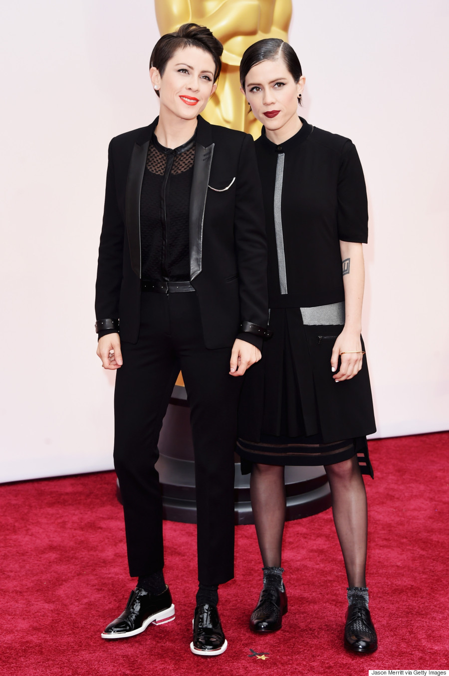 Tegan And Sara's Oscars 2015 Outfits Are A Lesson In Matching
