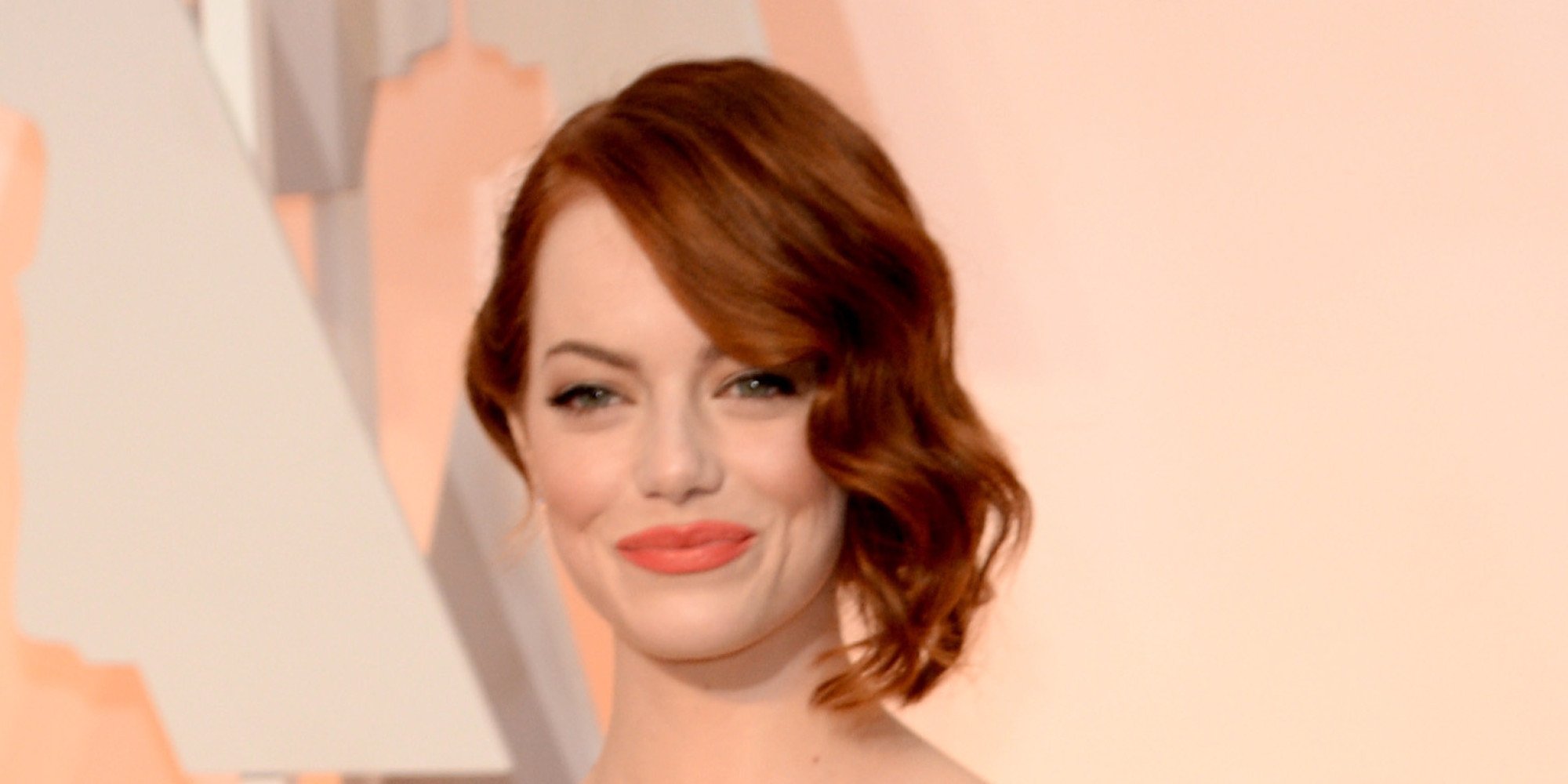 Emma Stone s Oscar Dress 2015 Emma Stone