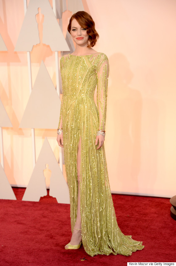 Emma Stone\'s Oscar Dress 2015 Is Arguably The Best Of The Night ...
