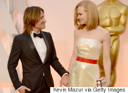 Nicole Kidman And Keith Urban Are All Smiles At The Oscars