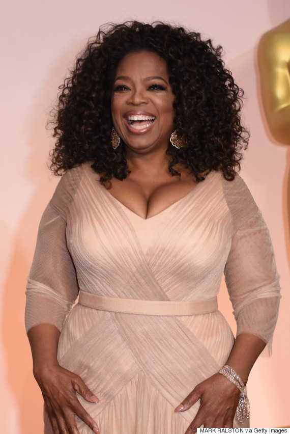 Oprah S Oscar Dress 2015 Is A Beautiful Gown Fit For A Tv