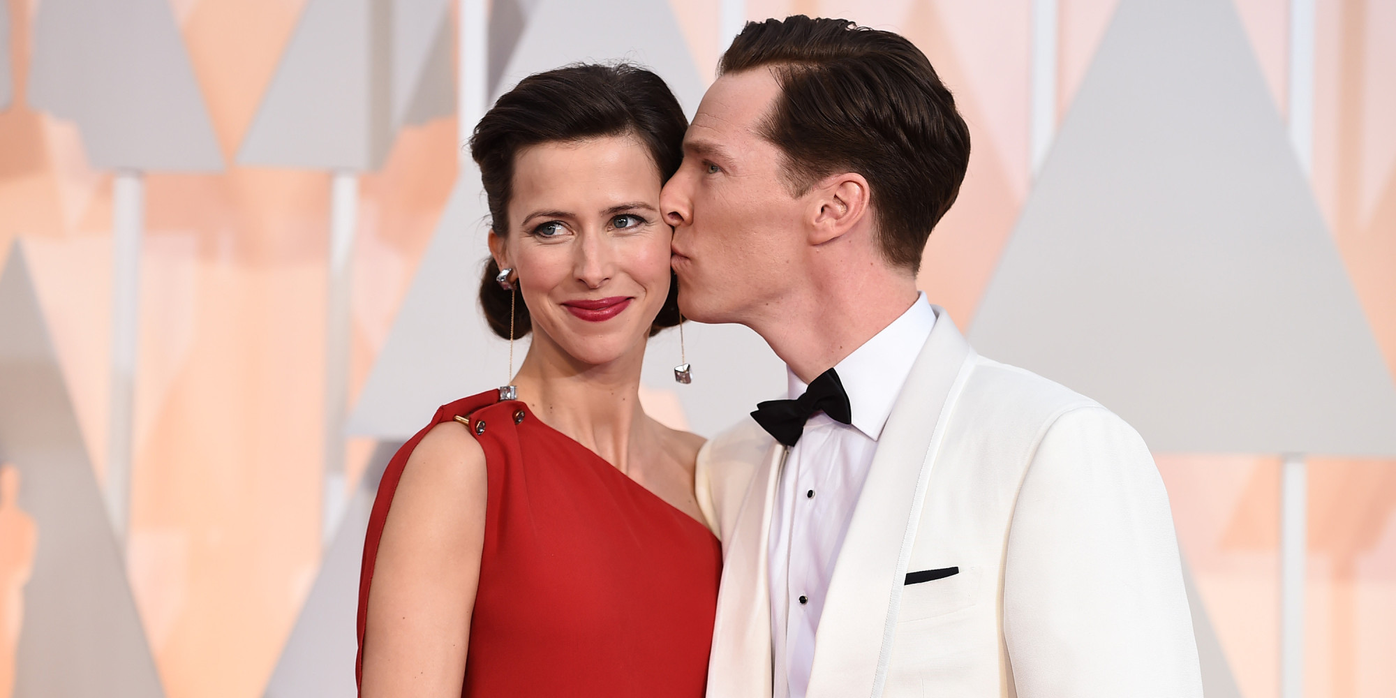 Newlyweds benedict cumberbatch and sophie hunter shine at the oscars