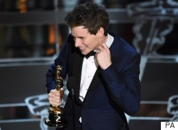 Did You Hear Eddie Redmayne's Little Squeal?