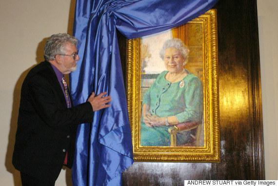 rolf harris queen portrait