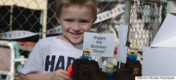 Community Responds To Autistic Boy's Birthday Party Heartbreak In Most Touching Way