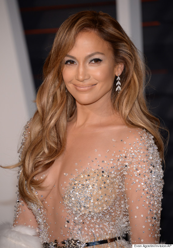 Jennifer Lopez Stuns In See-Through Gown At Vanity Fair Oscar Party ...