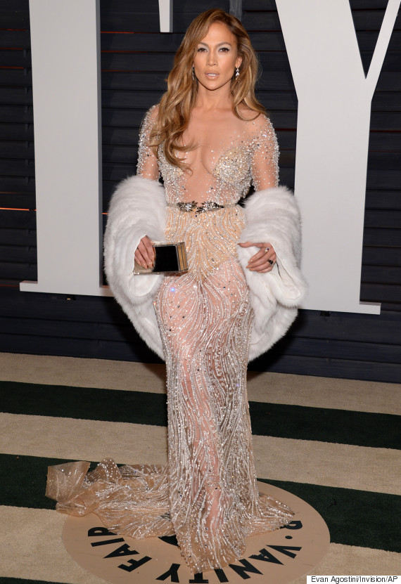 Jennifer Lopez Stuns In See-Through Gown At Vanity Fair ...