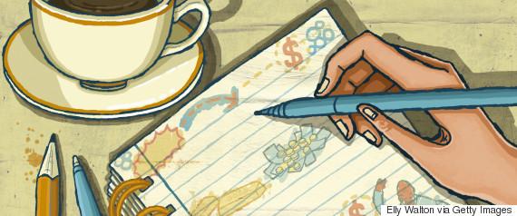 notebook doodle