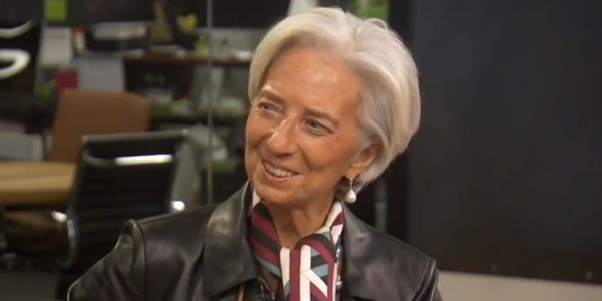 IMF Chief Christine Lagarde Expresses Optimism For Greece | HuffPost